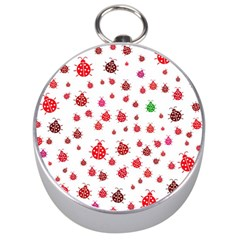 Beetle Animals Red Green Fly Silver Compasses