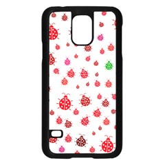 Beetle Animals Red Green Fly Samsung Galaxy S5 Case (black)
