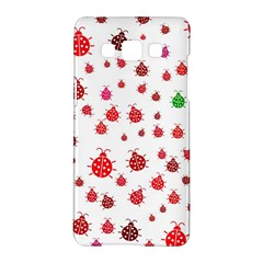 Beetle Animals Red Green Fly Samsung Galaxy A5 Hardshell Case