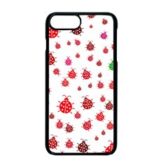 Beetle Animals Red Green Fly Apple Iphone 7 Plus Seamless Case (black)