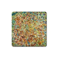 Art Modern Painting Acrylic Canvas Square Magnet