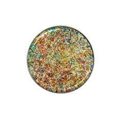 Art Modern Painting Acrylic Canvas Hat Clip Ball Marker