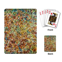 Art Modern Painting Acrylic Canvas Playing Card