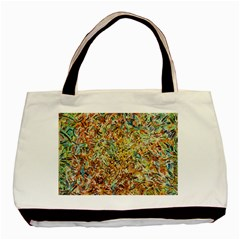 Art Modern Painting Acrylic Canvas Basic Tote Bag