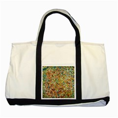 Art Modern Painting Acrylic Canvas Two Tone Tote Bag
