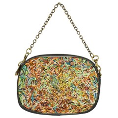 Art Modern Painting Acrylic Canvas Chain Purses (two Sides)