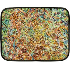 Art Modern Painting Acrylic Canvas Fleece Blanket (mini)