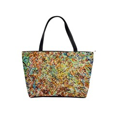 Art Modern Painting Acrylic Canvas Shoulder Handbags