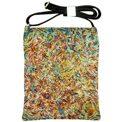 Art Modern Painting Acrylic Canvas Shoulder Sling Bags