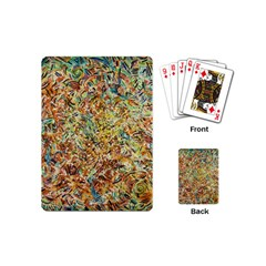 Art Modern Painting Acrylic Canvas Playing Cards (mini)