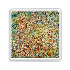 Art Modern Painting Acrylic Canvas Memory Card Reader (square)