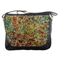 Art Modern Painting Acrylic Canvas Messenger Bags