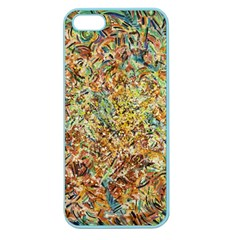 Art Modern Painting Acrylic Canvas Apple Seamless Iphone 5 Case (color)