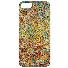 Art Modern Painting Acrylic Canvas Apple Iphone 5 Classic Hardshell Case