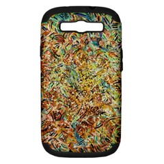Art Modern Painting Acrylic Canvas Samsung Galaxy S Iii Hardshell Case (pc+silicone)
