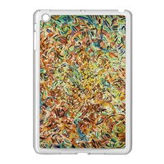 Art Modern Painting Acrylic Canvas Apple Ipad Mini Case (white)