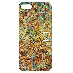 Art Modern Painting Acrylic Canvas Apple Iphone 5 Hardshell Case With Stand
