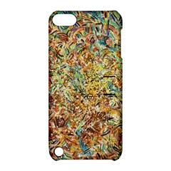 Art Modern Painting Acrylic Canvas Apple Ipod Touch 5 Hardshell Case With Stand