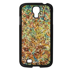 Art Modern Painting Acrylic Canvas Samsung Galaxy S4 I9500/ I9505 Case (black)
