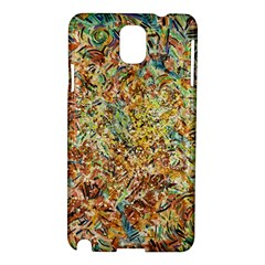 Art Modern Painting Acrylic Canvas Samsung Galaxy Note 3 N9005 Hardshell Case