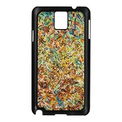 Art Modern Painting Acrylic Canvas Samsung Galaxy Note 3 N9005 Case (black)