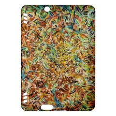 Art Modern Painting Acrylic Canvas Kindle Fire Hdx Hardshell Case