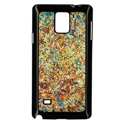 Art Modern Painting Acrylic Canvas Samsung Galaxy Note 4 Case (black)