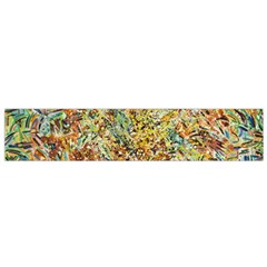 Art Modern Painting Acrylic Canvas Flano Scarf (small)