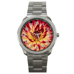 Bloom Blossom Close Up Flora Sport Metal Watch