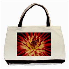 Bloom Blossom Close Up Flora Basic Tote Bag (two Sides)