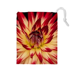 Bloom Blossom Close Up Flora Drawstring Pouches (large)