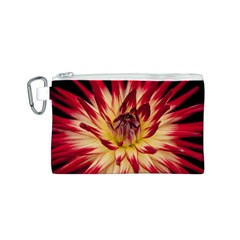Bloom Blossom Close Up Flora Canvas Cosmetic Bag (s)
