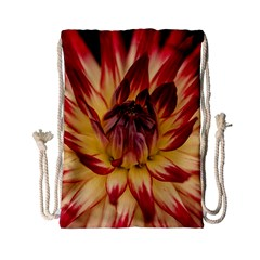 Bloom Blossom Close Up Flora Drawstring Bag (small)