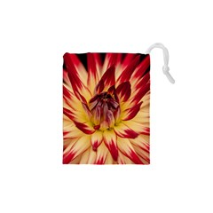 Bloom Blossom Close Up Flora Drawstring Pouches (xs)