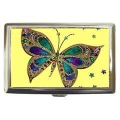 Butterfly Mosaic Yellow Colorful Cigarette Money Cases