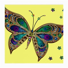Butterfly Mosaic Yellow Colorful Medium Glasses Cloth (2 Side)