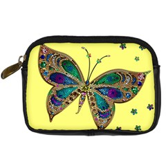 Butterfly Mosaic Yellow Colorful Digital Camera Cases
