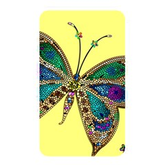 Butterfly Mosaic Yellow Colorful Memory Card Reader