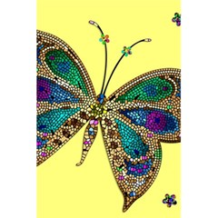 Butterfly Mosaic Yellow Colorful 5 5  X 8 5  Notebooks