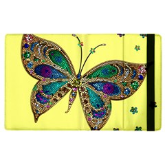 Butterfly Mosaic Yellow Colorful Apple Ipad 3/4 Flip Case