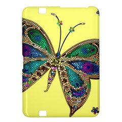 Butterfly Mosaic Yellow Colorful Kindle Fire Hd 8 9