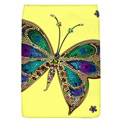 Butterfly Mosaic Yellow Colorful Flap Covers (l)