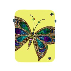 Butterfly Mosaic Yellow Colorful Apple Ipad 2/3/4 Protective Soft Cases