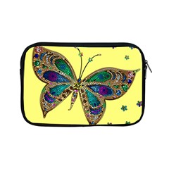 Butterfly Mosaic Yellow Colorful Apple Ipad Mini Zipper Cases