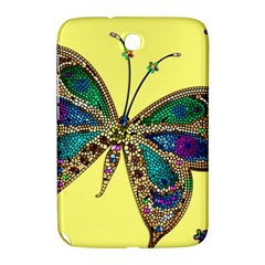Butterfly Mosaic Yellow Colorful Samsung Galaxy Note 8 0 N5100 Hardshell Case
