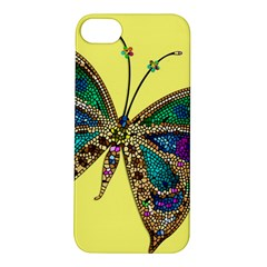 Butterfly Mosaic Yellow Colorful Apple Iphone 5s/ Se Hardshell Case