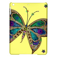 Butterfly Mosaic Yellow Colorful Ipad Air Hardshell Cases