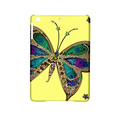 Butterfly Mosaic Yellow Colorful Ipad Mini 2 Hardshell Cases
