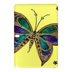 Butterfly Mosaic Yellow Colorful Samsung Galaxy Tab Pro 10 1 Hardshell Case