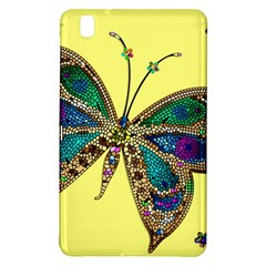 Butterfly Mosaic Yellow Colorful Samsung Galaxy Tab Pro 8 4 Hardshell Case